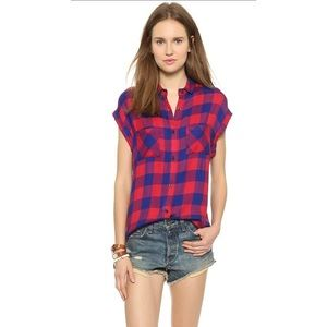 Rails Britt Button Down Shirt Size Small